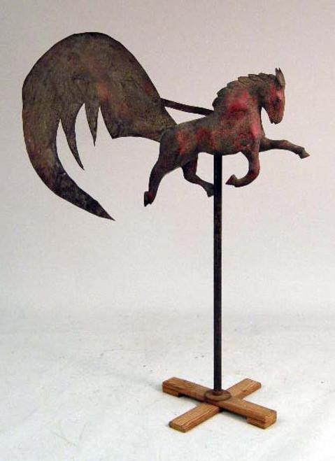 Flying Horse Weather Vane