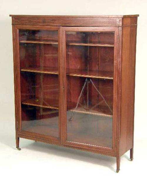 Mahogany Federal Style Bookcase