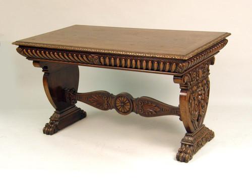 Highly Figured Mahogany Desk