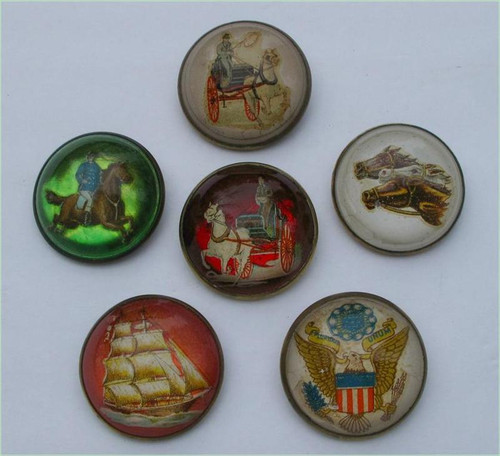 Equestrian Bridle Buttons 19th Century- Priced Each