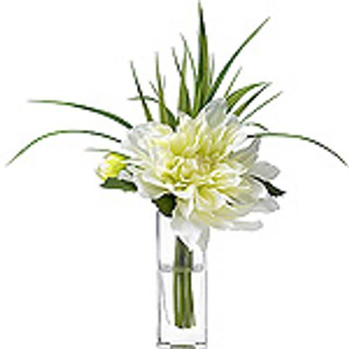Floral Diane James Dahlia Blossom in Bud Vase*
