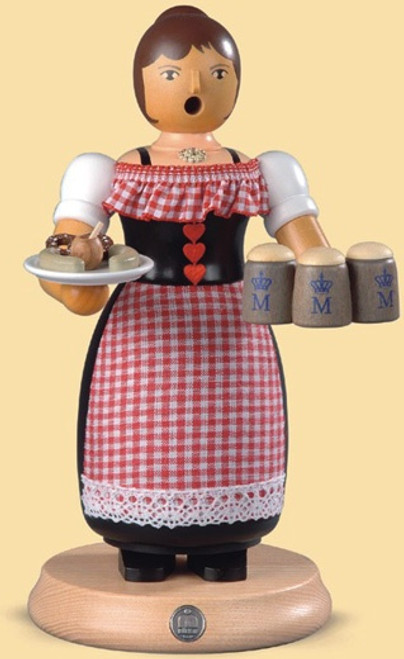 Müller Bavarian Waitress on Oktoberfest