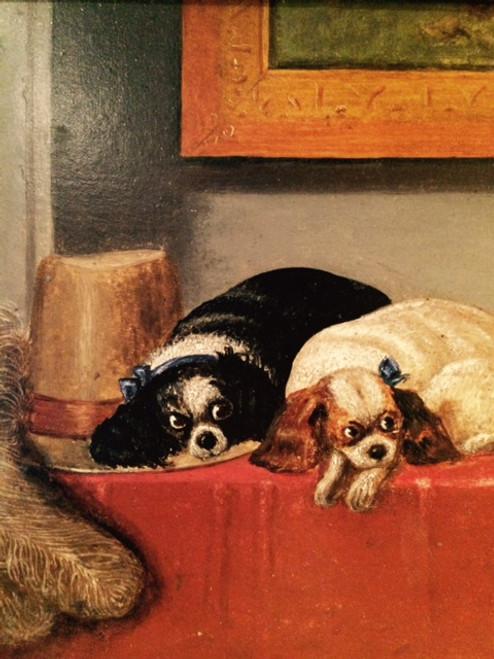 After Sir Landseer- The Cavalier's Pets