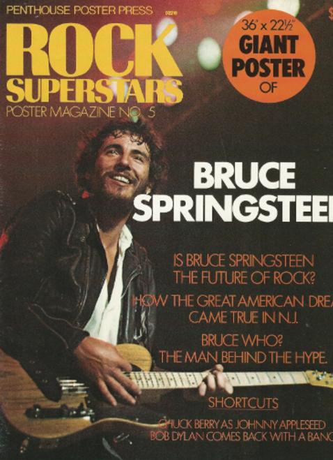Bruce Springsteen Poster 1975