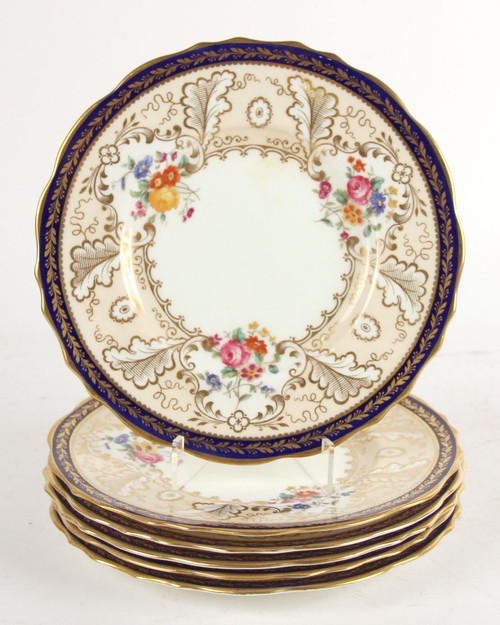 Tiffany Porcelain Dishes Set Of 6  SO Beautiful! Mix Them Into Your Life!