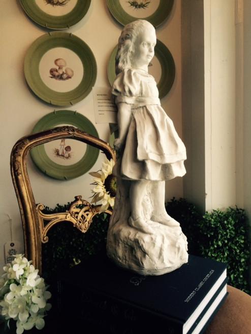 Alice in Wonderland Garden Statue