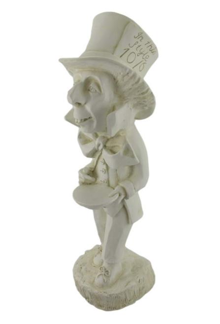 Alice in Wonderland's Mad Hatter Garden Statue