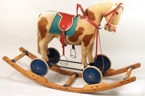 Steiff Riding and Rocking Horse