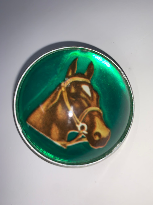 Bridle Pin Beautiful Horse Belt Buckle!
