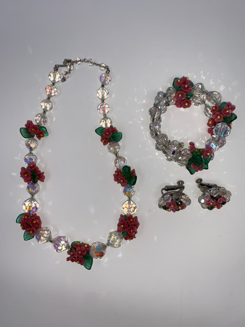FABULOUS Vintage Jewelry Set By Vendome!