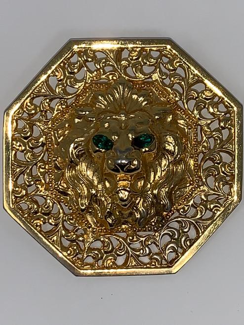 Vintage Lion Pin/Pendant