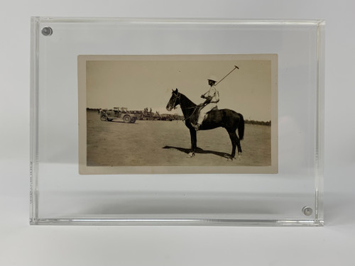 Polo Player in Toowoomba, Australia Posing