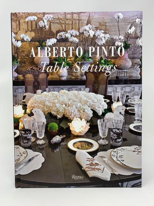 Alberto Pinto  Table Settings  -   New