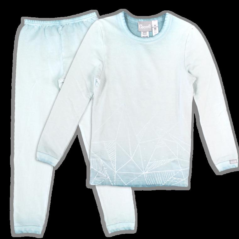 Coccoli French Terry   Pajama   2-12y   TLF4532-384