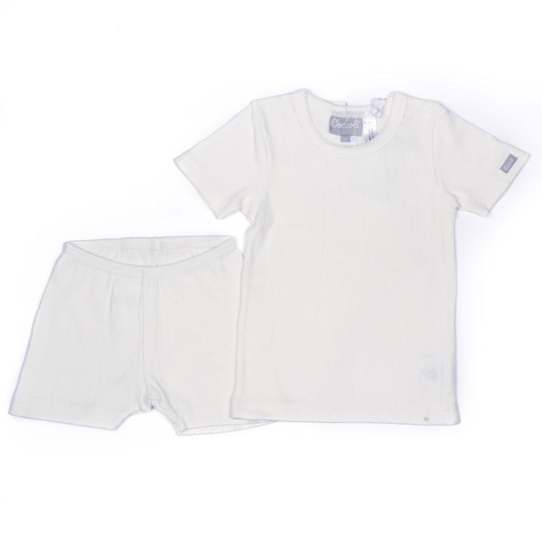 Coccoli Pointelle | Short Pyjama | 12m-24m | ESR4856-200
