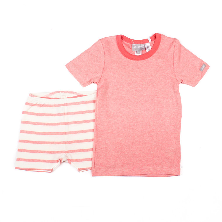 Coccoli Modal Rib | Short Pyjama | 12m-24m | ESR4873-164