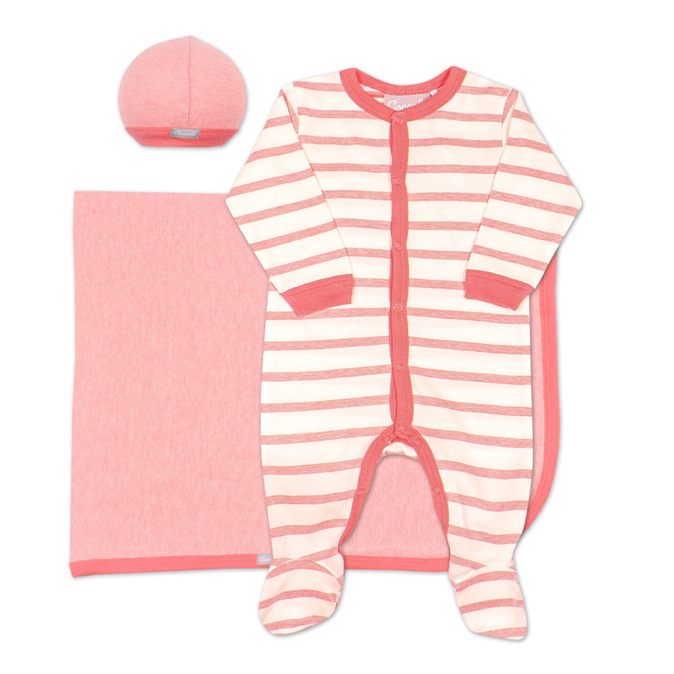 Coccoli Modal | Footie+Cap+Blanket | N-3m | MR4803-164