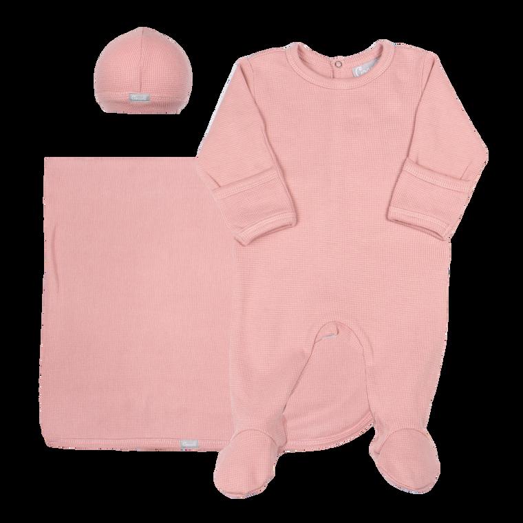 Coccoli   Footie+Blanket+Cap   N-3m   MM4904-366