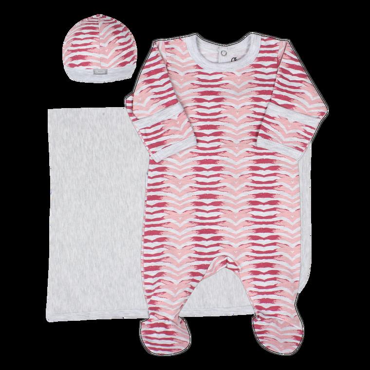 Coccoli | Footie+Blanket+Cap | N-3m | MM5012-171