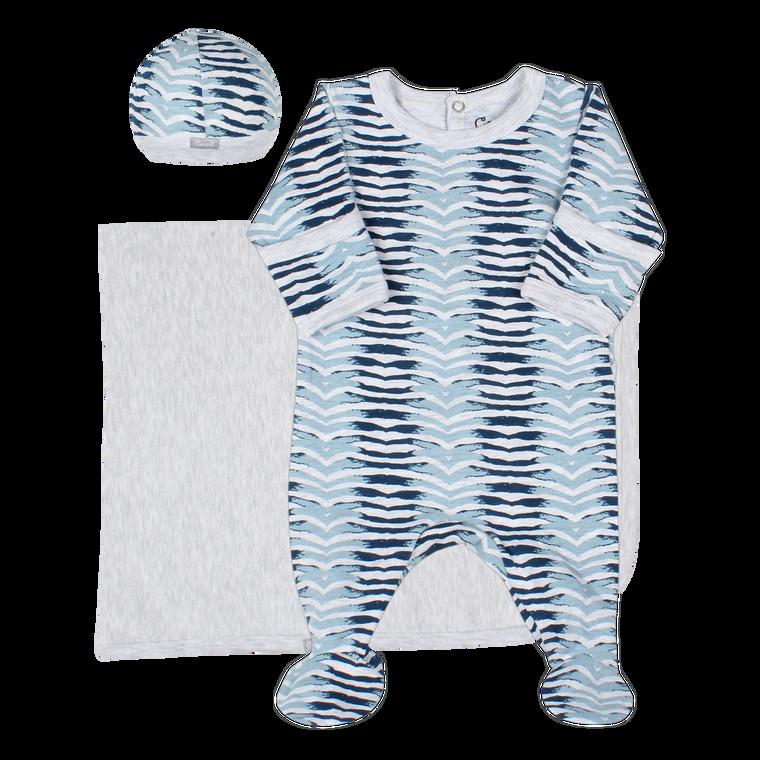 Coccoli | Footie+Blanket+Cap | N-3m | MM5012-185