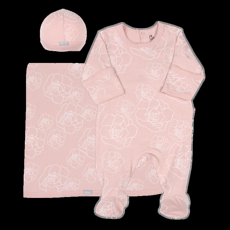 Coccoli   Footie+Blanket+Cap   N-3m   MM5041-361