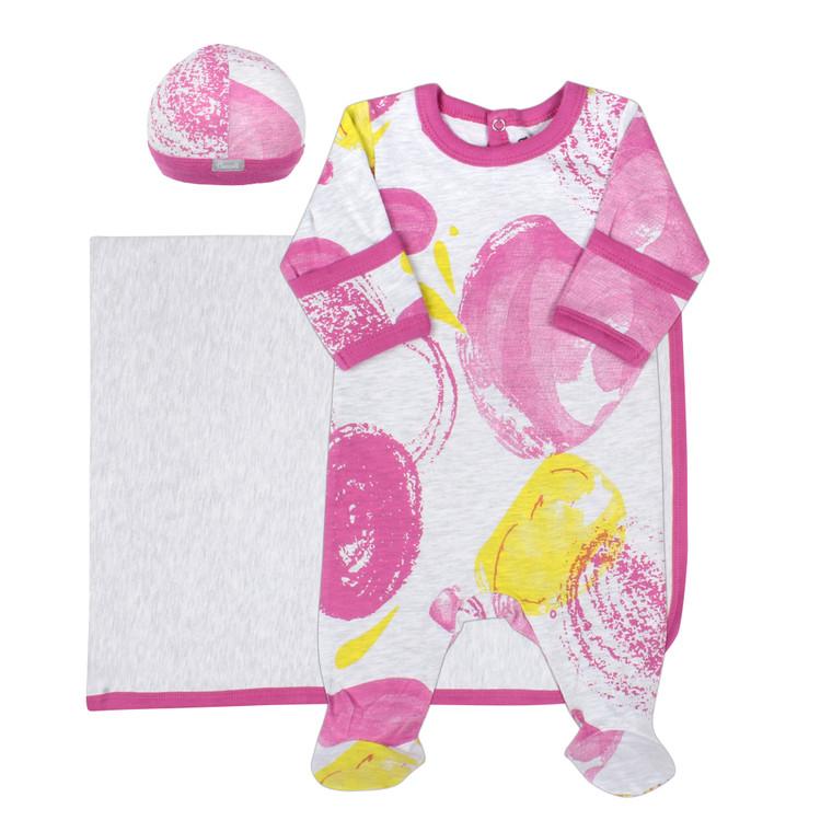 Coccoli | Footie+Blanket+Cap | N-3m | MJ5015-164