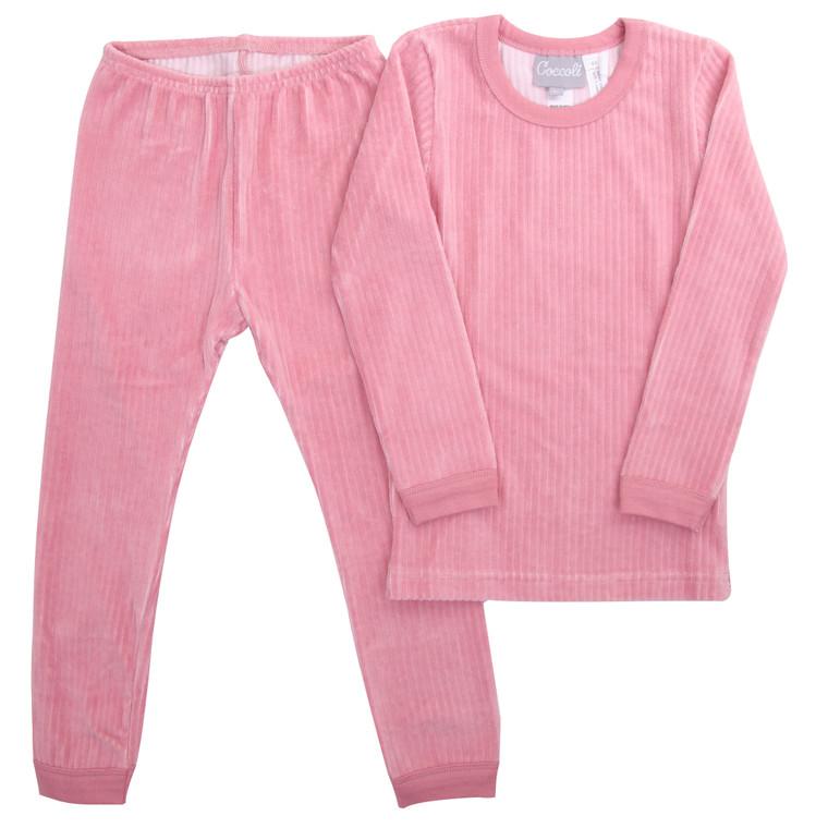Coccoli | Velour Pyjama | 2y-14y | TLV5141-366