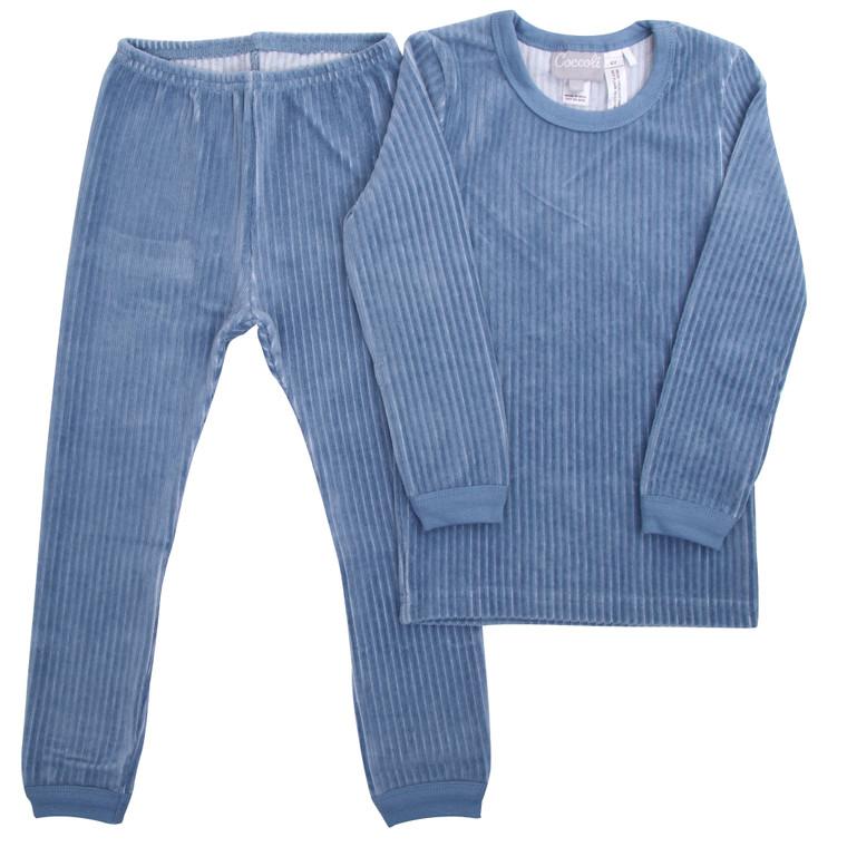 Coccoli   Velour Pyjama   2y-14y   TLV5141-385