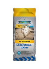RAVENOL Leather Care Wipes - 25 Count