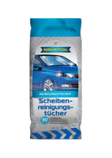 RAVENOL Glass Cleaner Wipes - 30 Count