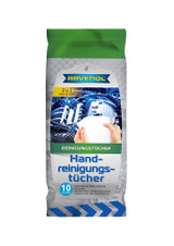 RAVENOL Hand Cleaner Wipes - 10 Count