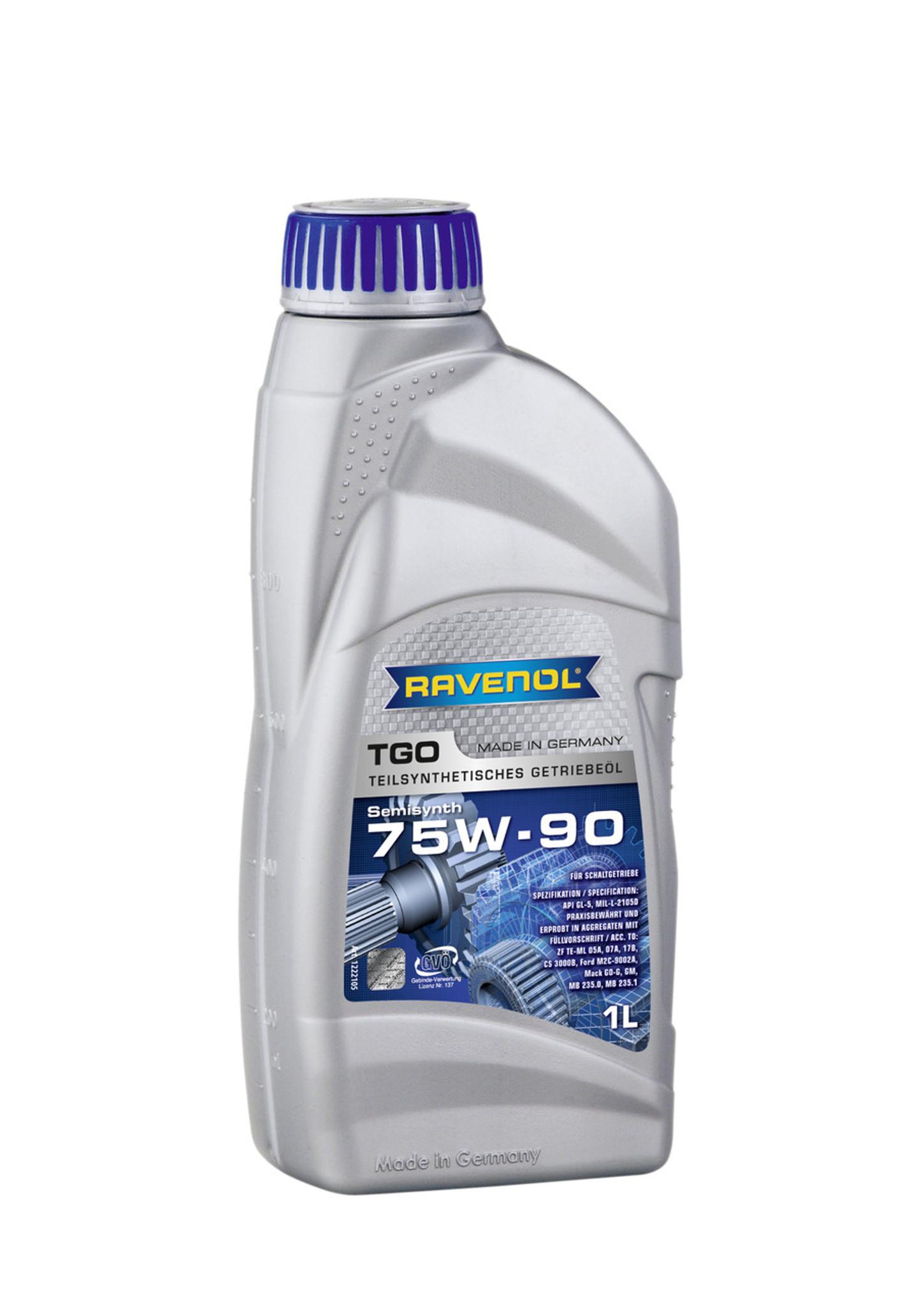 Gear Oil - 75W-90 GL-5 - RAVENOL TGO