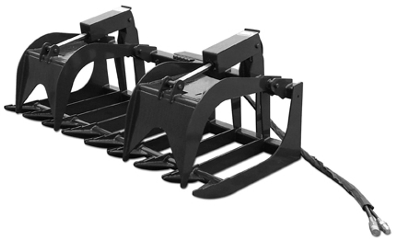 """72"""" Economy Dual Cylinder Root Grapple"""