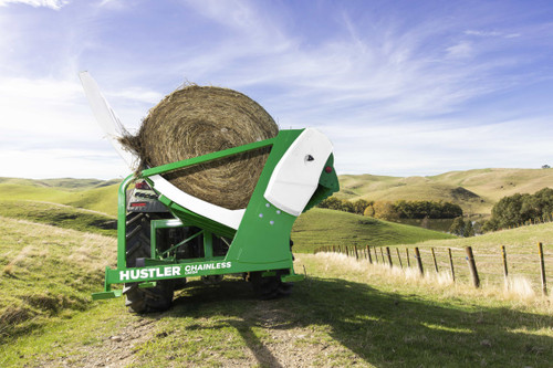Hustler LX104 3-Point Chainless Bale Feeder