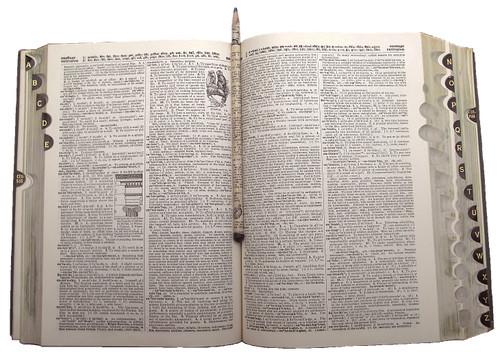 """Dictionary Pencil™ - The Original 7"""" Long No. 2 Graphite Paper Pencil"""