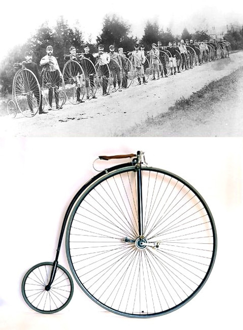 Penny Farthing - Columbia Light Roadster 1886 High Wheel Bicycle