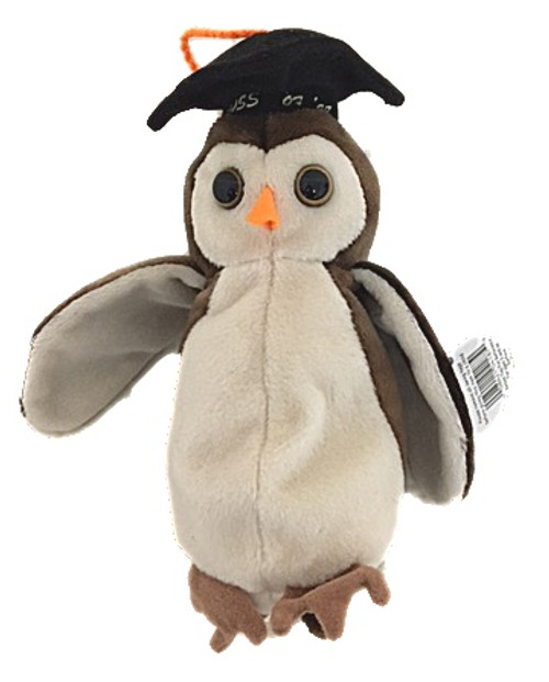 """Beanie Baby - Wise Owl """"Class of 1998"""""""