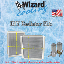 Wizard Cooling Performance Aluminum Radiators