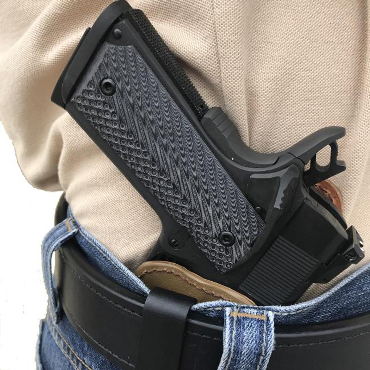 Pro Carry 7 Leather Gun Holster LH RH For Sig Sauer 1911 C3