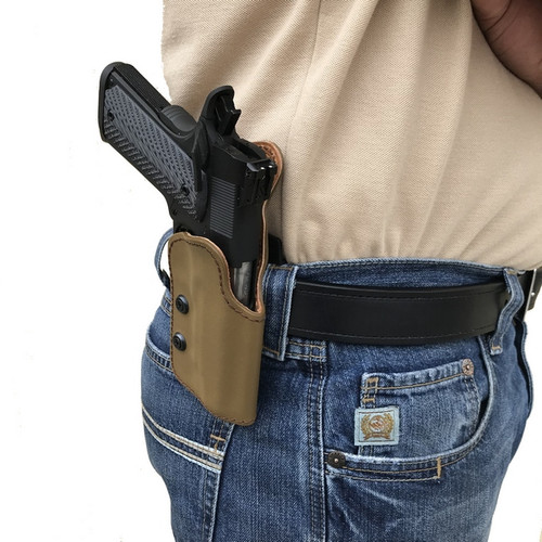 Deep Carry DC-2 Paddle Holster - Coyote