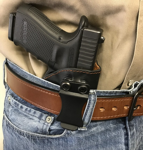 Deep Carry DC-2 IWB Appendix Holster. Black