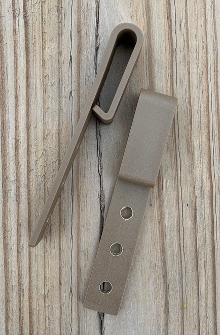 Light Tan Slimline Clips