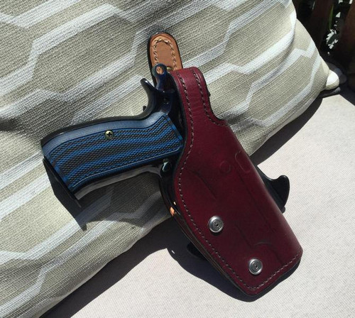 Leather Paddle Holster for CZ