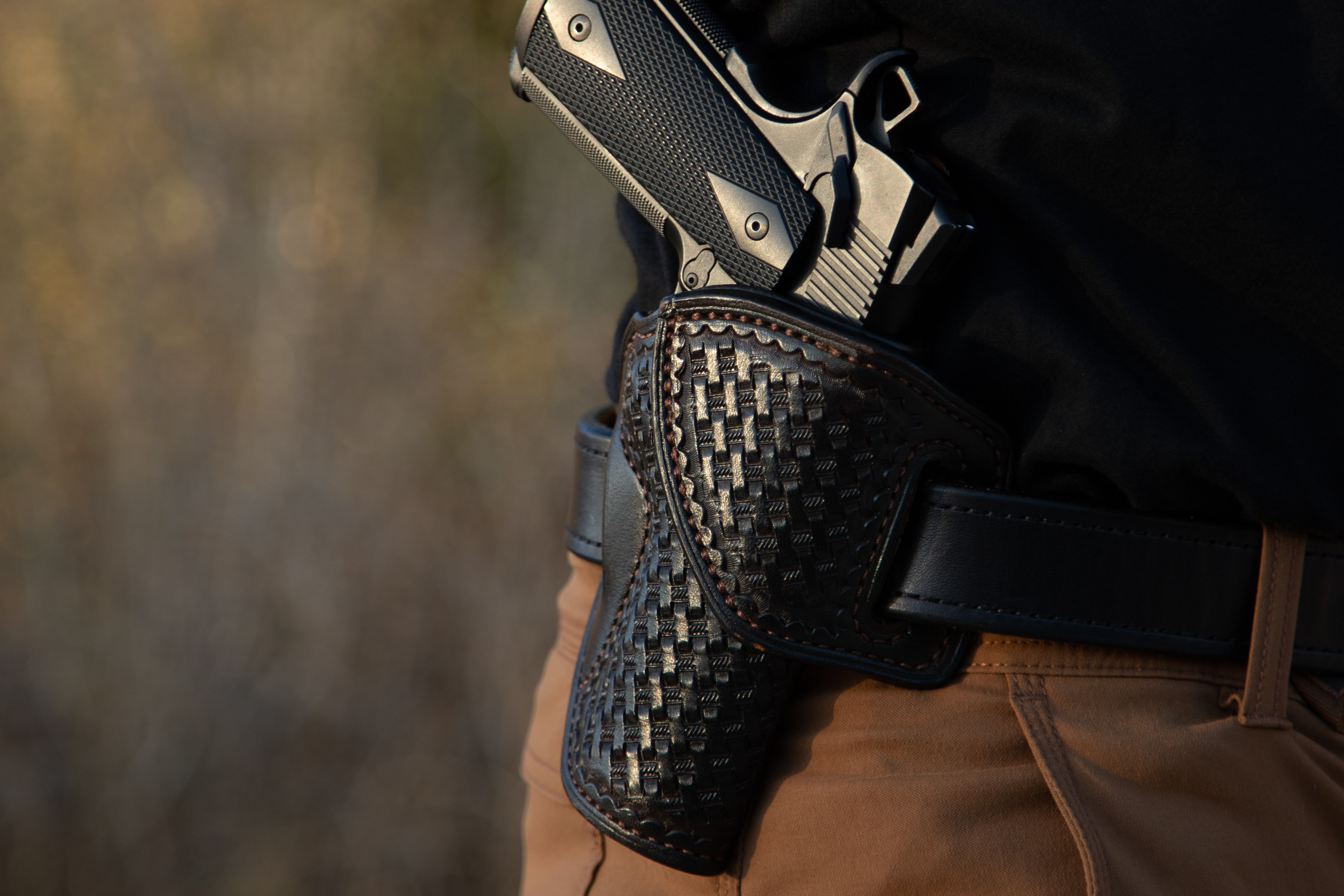 Professional Gun Journalist Reviews Our HF-1 Leather Holster