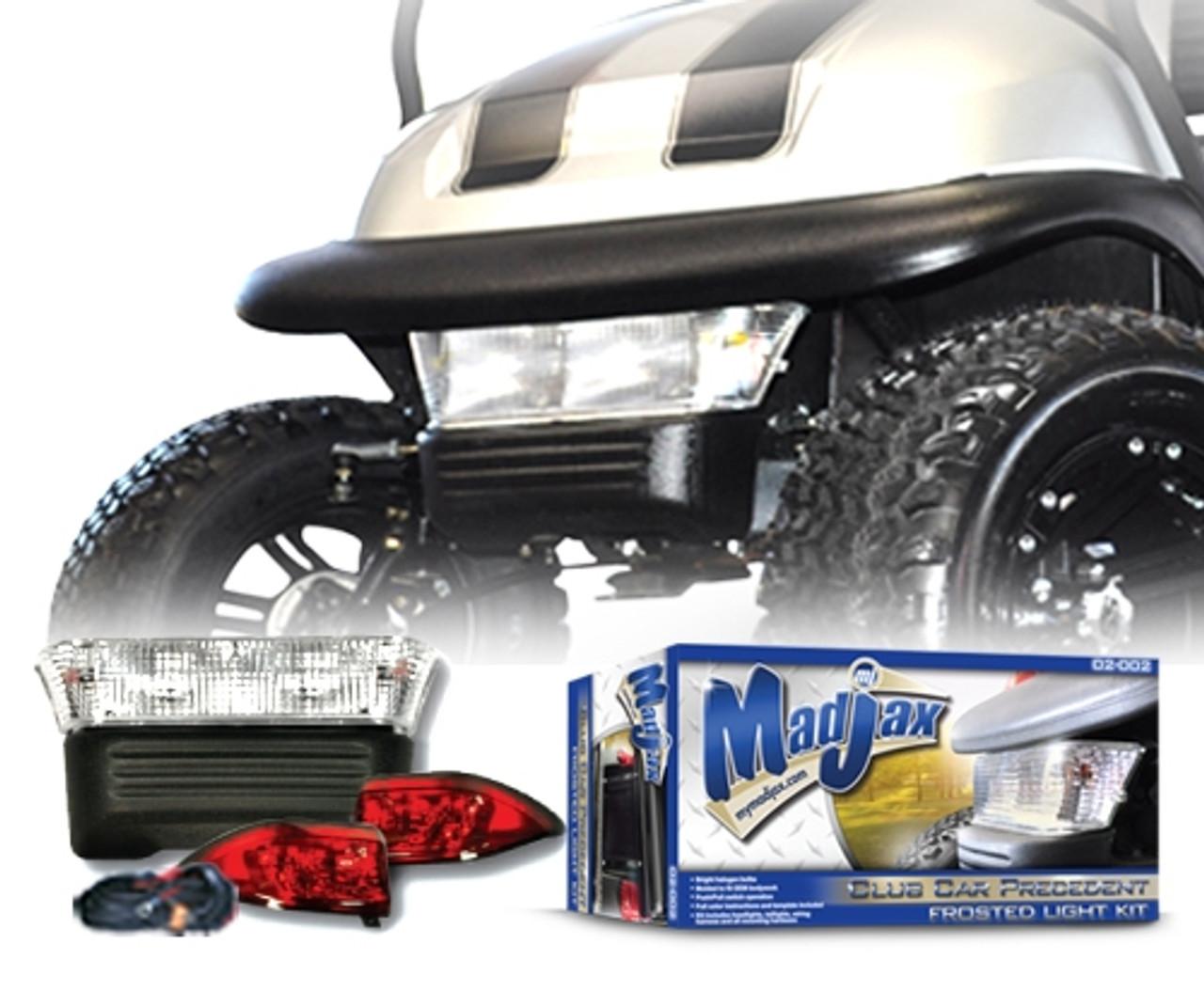 Madjax Club Car Precedent Light Kit Frosted Lens Golf