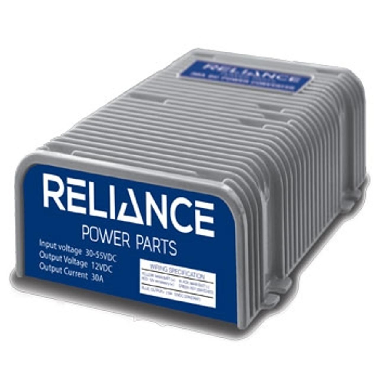 Reliance 36 or 48 Volt to 12 Volt DC Converter - 30 Amp on