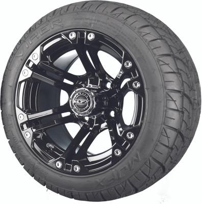 Madjax 12 Black Nitro Wheels
