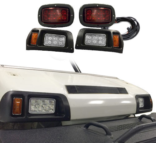 madjax club car ds led light kit with basic harness & old style bezel