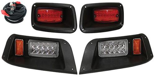 ezgo txt led headlight and tail light kit (1996-2013)