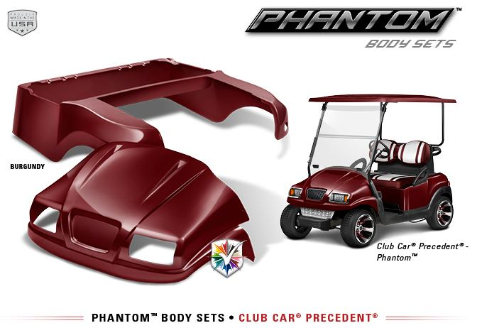 Double Take Club Car Precedent Quot Phantom Quot Body Kit